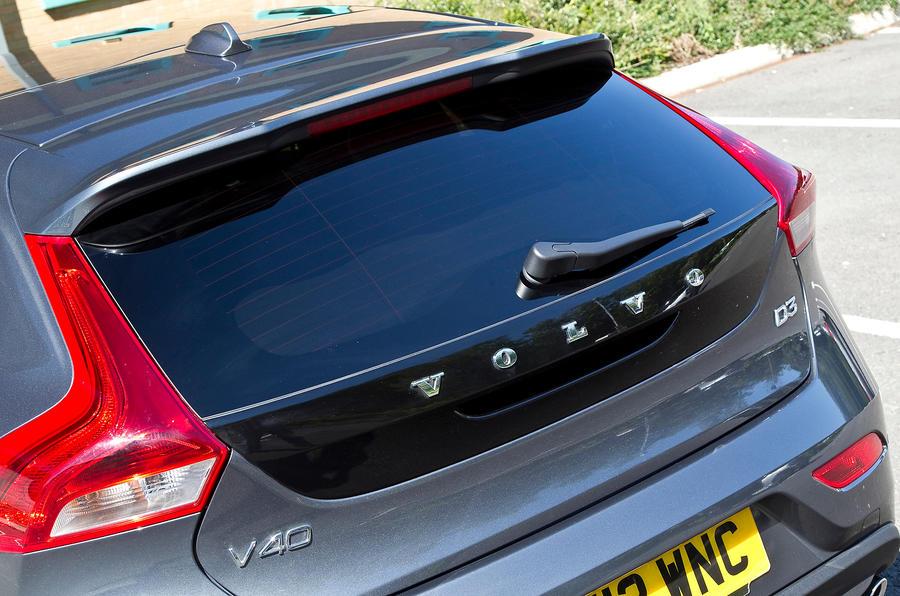 Volvo V40 rear hatch