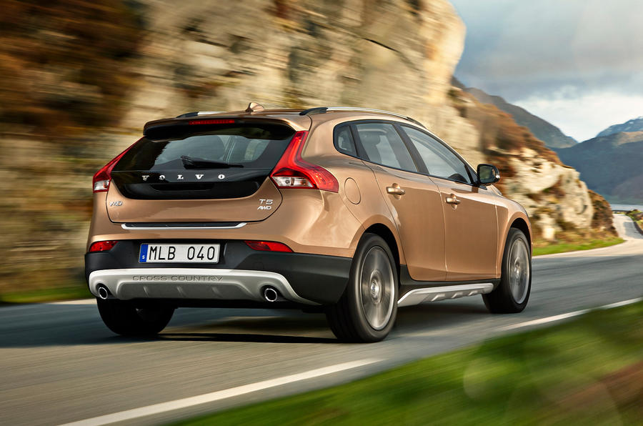 volvo v40 cross country d3 se nav review autocar. Black Bedroom Furniture Sets. Home Design Ideas