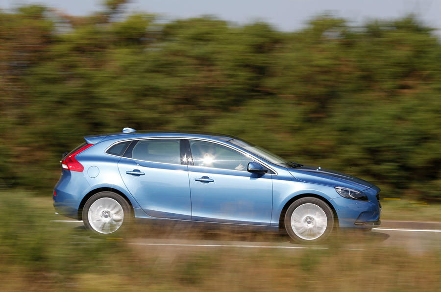 Volvo V40 D4 SE Nav first drive review