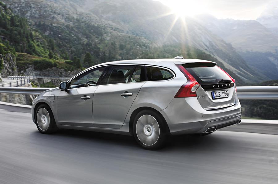New Volvo V60 hybrid from £47k