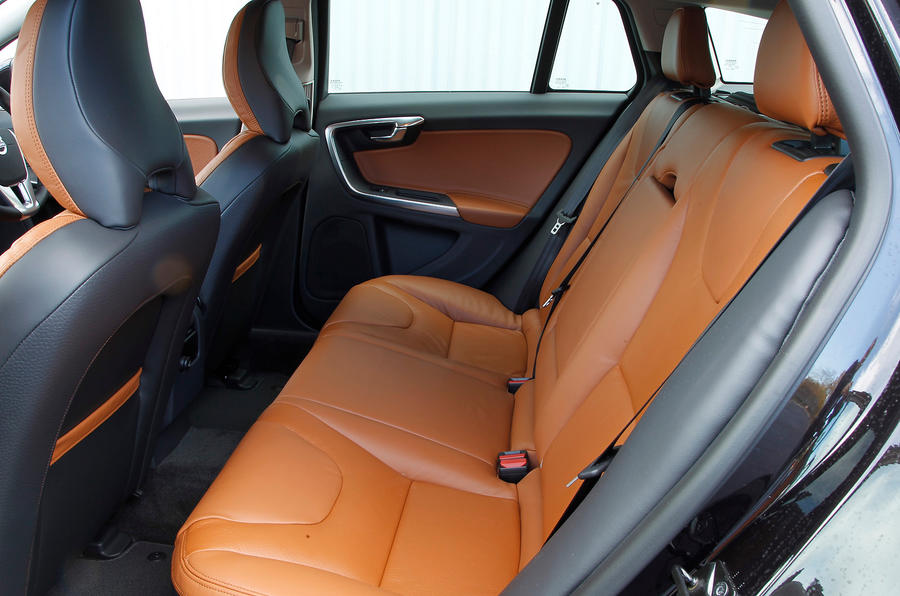 Volvo V60 rear seats