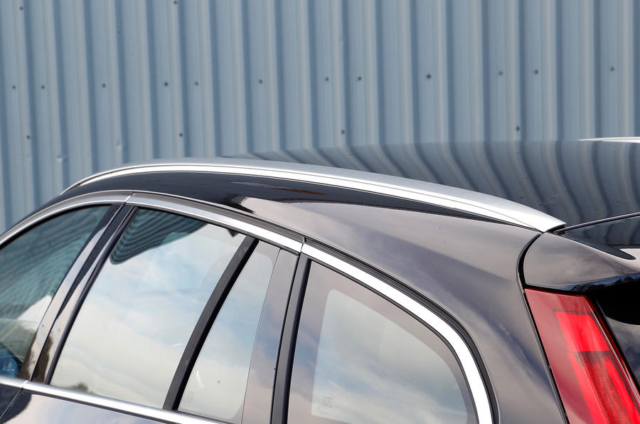 Volvo V60 roof rails