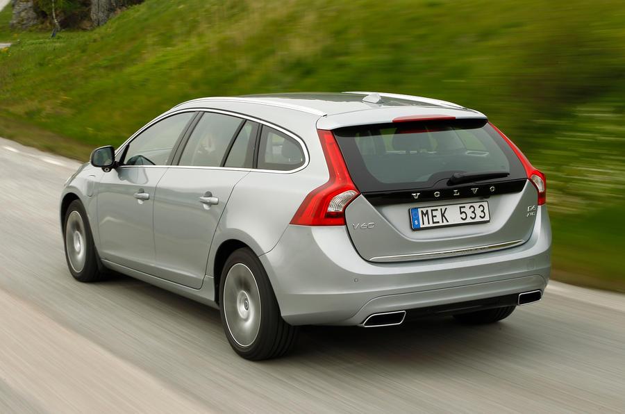 Volvo V60 D6 rear