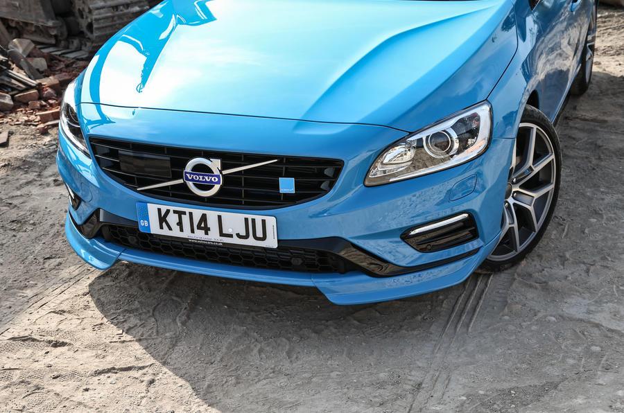 Volvo V60 Polestar front end