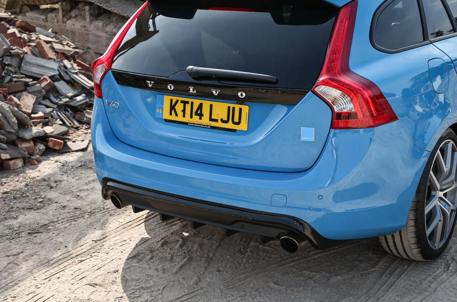 Volvo V60 Polestar rear end