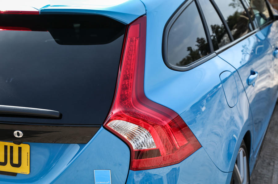 Volvo V60 Polestar rear lights