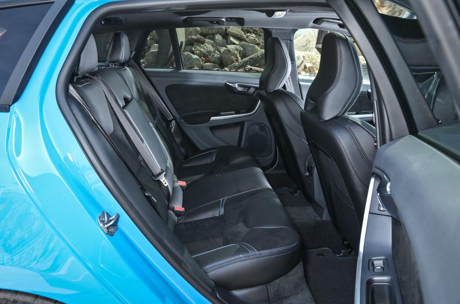 Volvo V60 Polestar rear seats