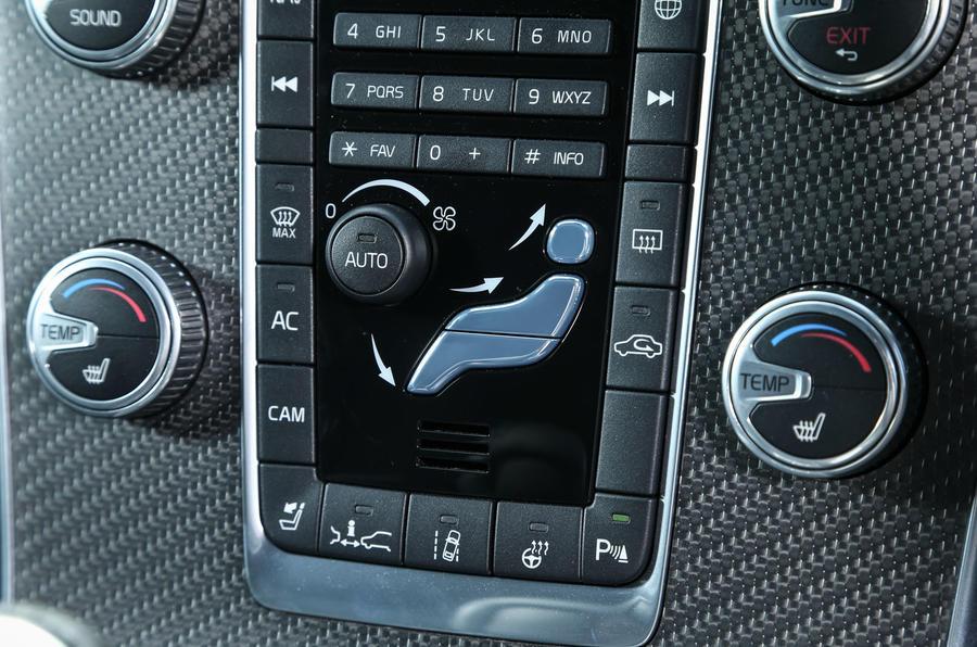 Volvo V60 Polestar centre console