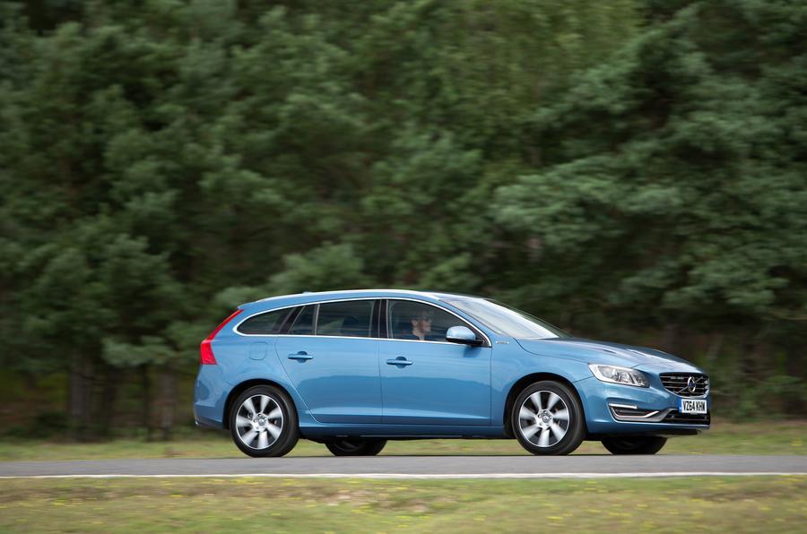 Volvo V60 side profile