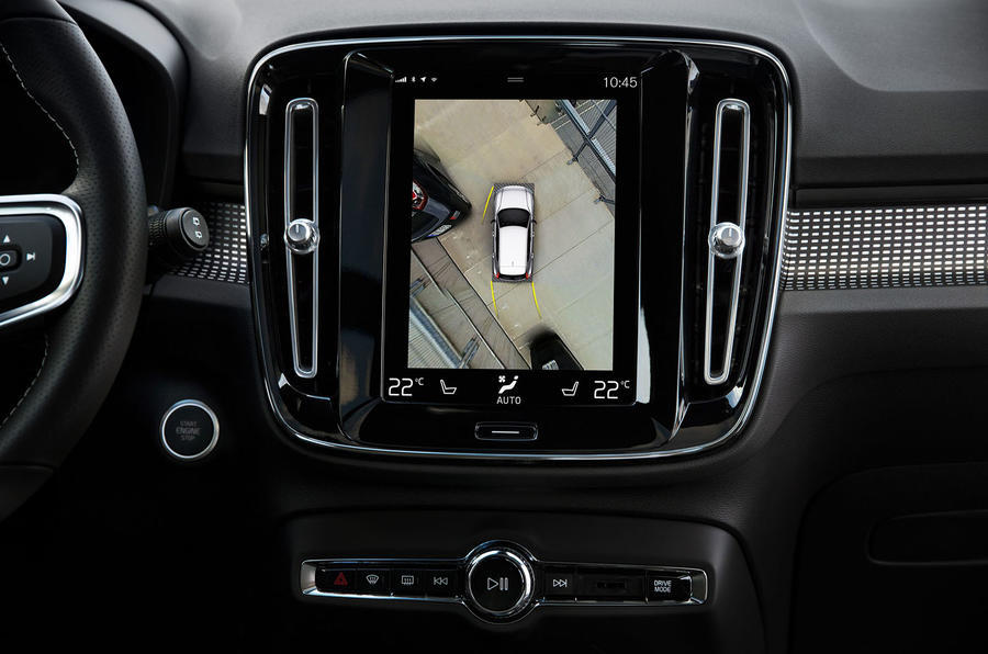 Volvo XC40 360-degree camera-system