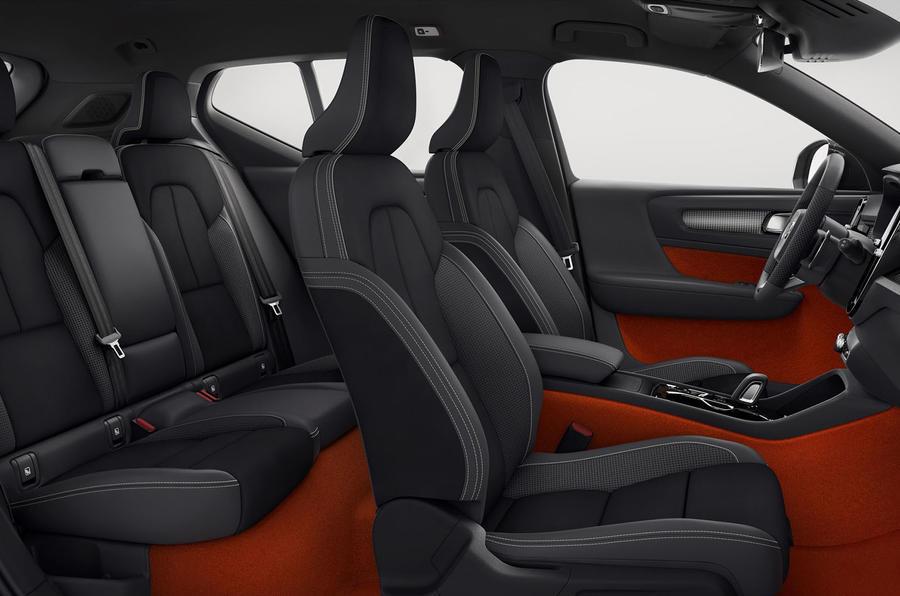Volvo XC40 interior