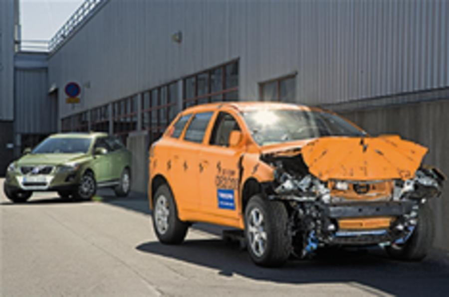 "Volvo: ""cars that don't crash"""