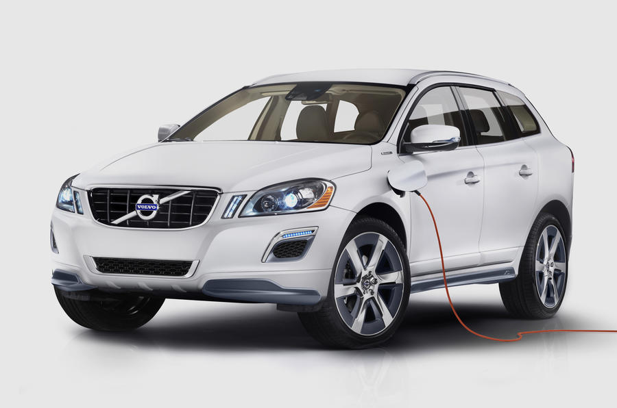 Detroit show: Volvo XC60 Plug-in