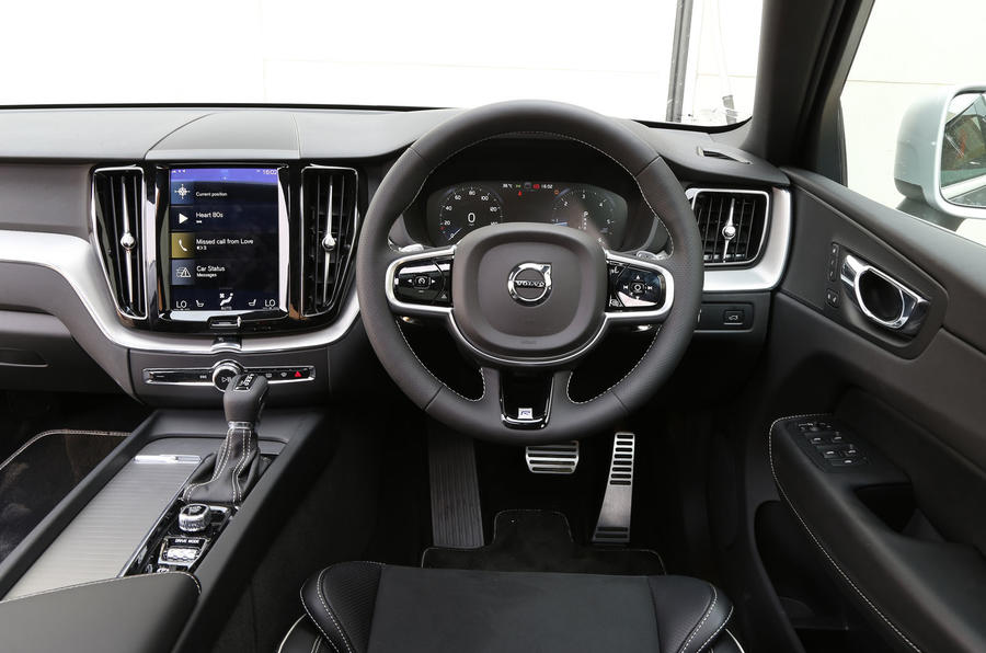 volvo xc60 interior autocar. Black Bedroom Furniture Sets. Home Design Ideas