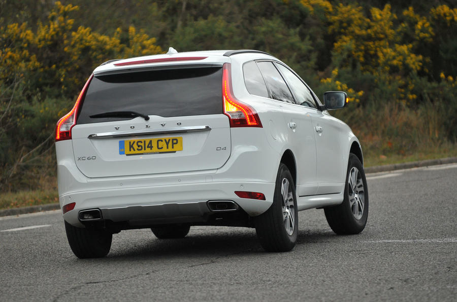 Volvo XC60 rear cornering