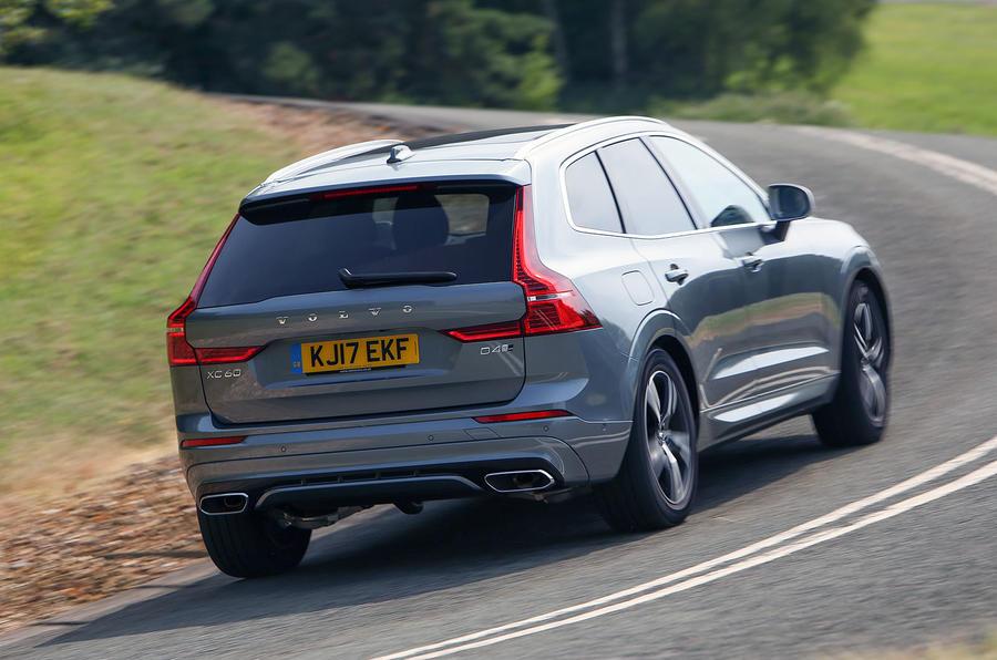 Volvo XC60 rear cornering