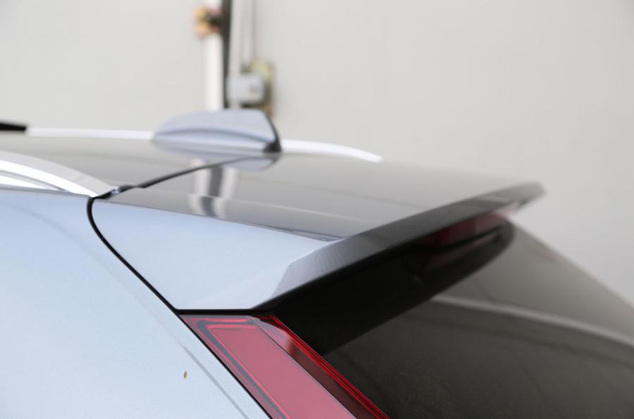Volvo XC60 rear spoiler