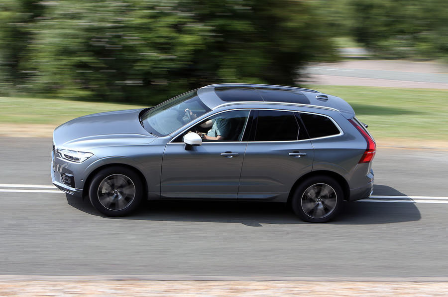 Volvo XC60 side profile