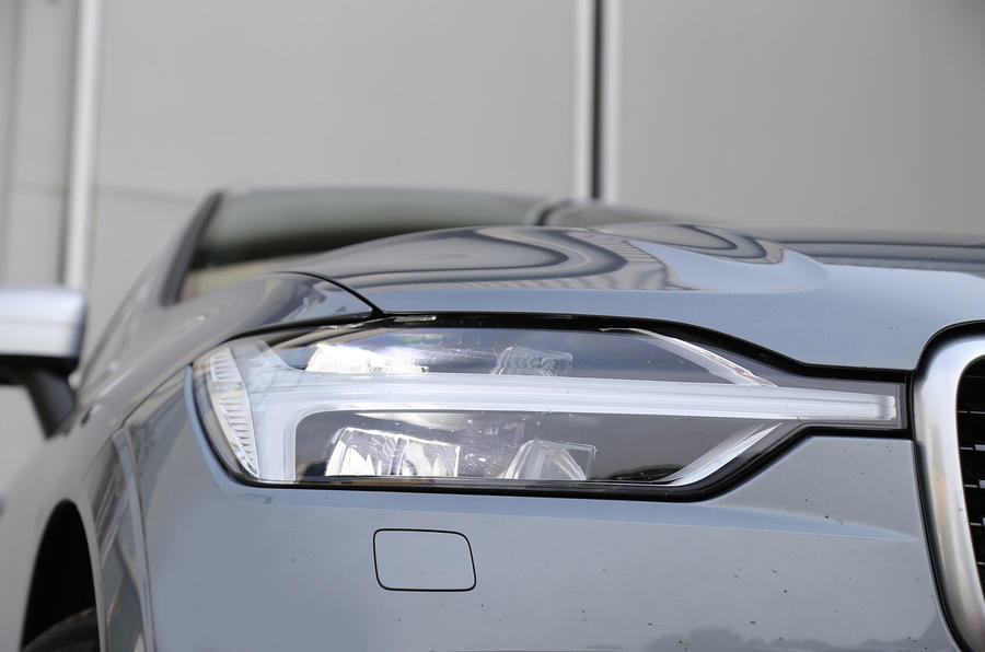Volvo XC60 Thor LED headlights