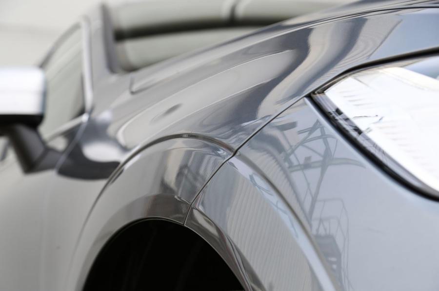 Volvo XC60 wheelarch