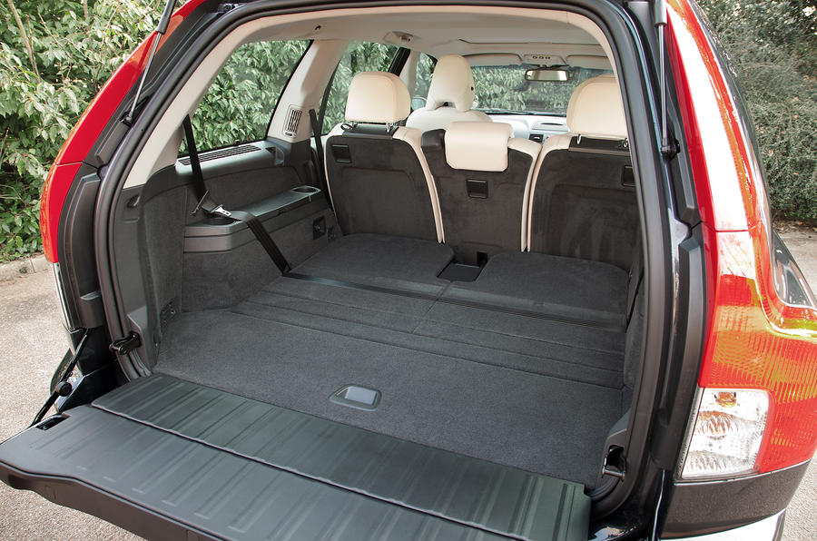 Volvo XC90 seating flexibility