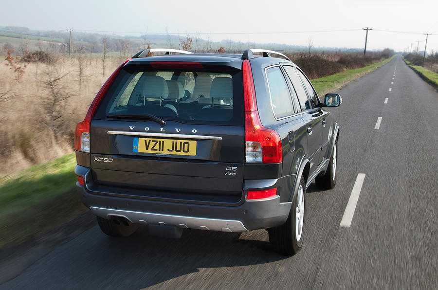 Volvo XC90 rear quarter