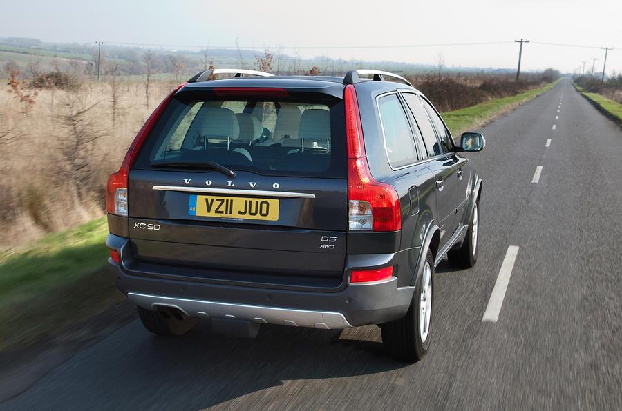 Volvo XC90 rear quarter