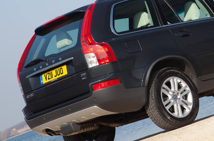 Volvo XC90 rear end