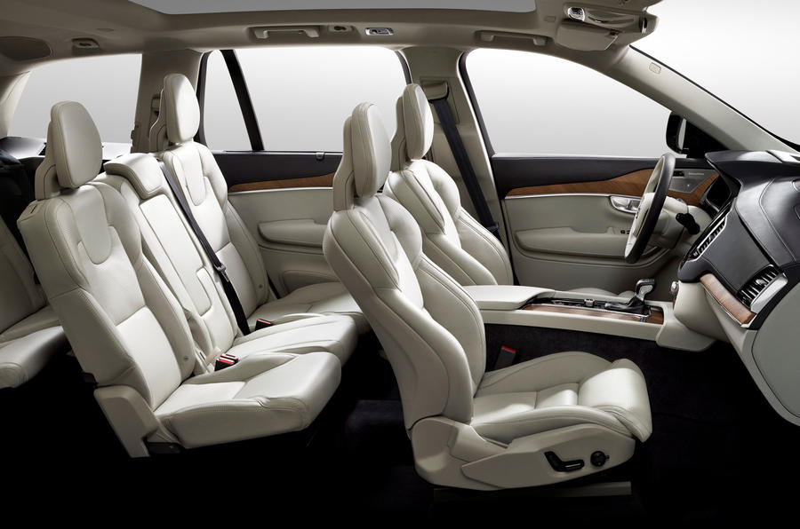Volvo Xc90 Interior >> Next Gen Volvo Xc90 Interior Revealed Autocar
