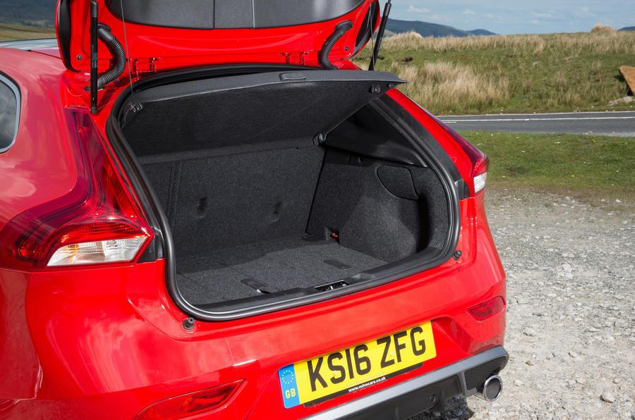 Volvo V40 boot space