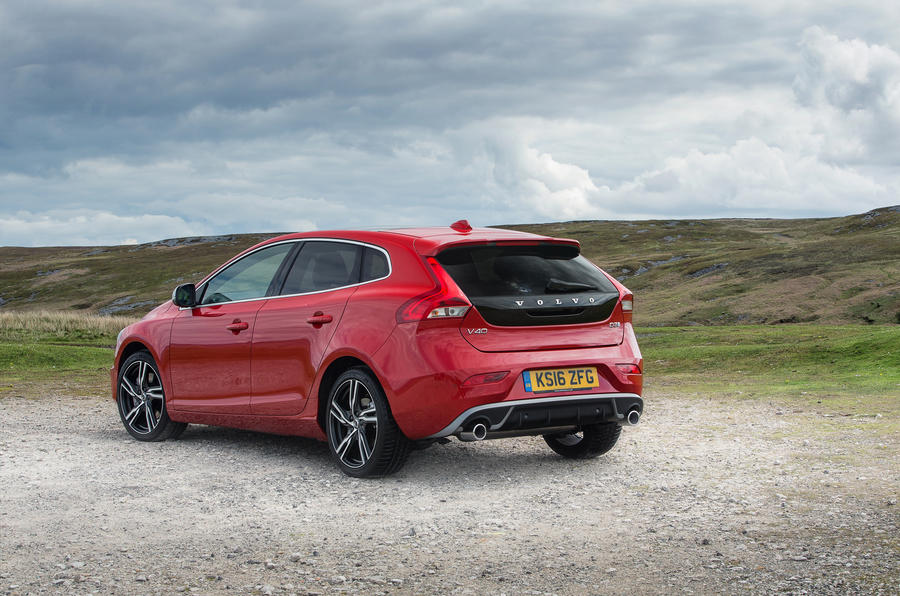Volvo V40 rear quarter