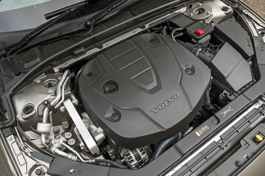 Volvo V60 2018 road test review engine