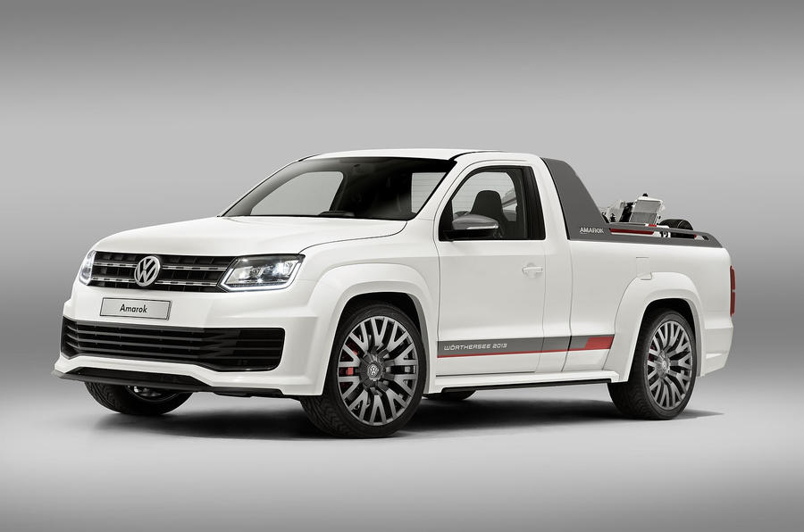 Vw Reveals Amarok Power Pickup Concept At W 246 Rthersee