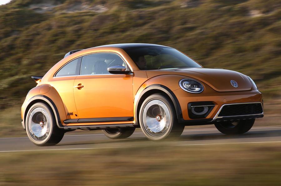 207bhp Volkswagen Beetle Dune concept