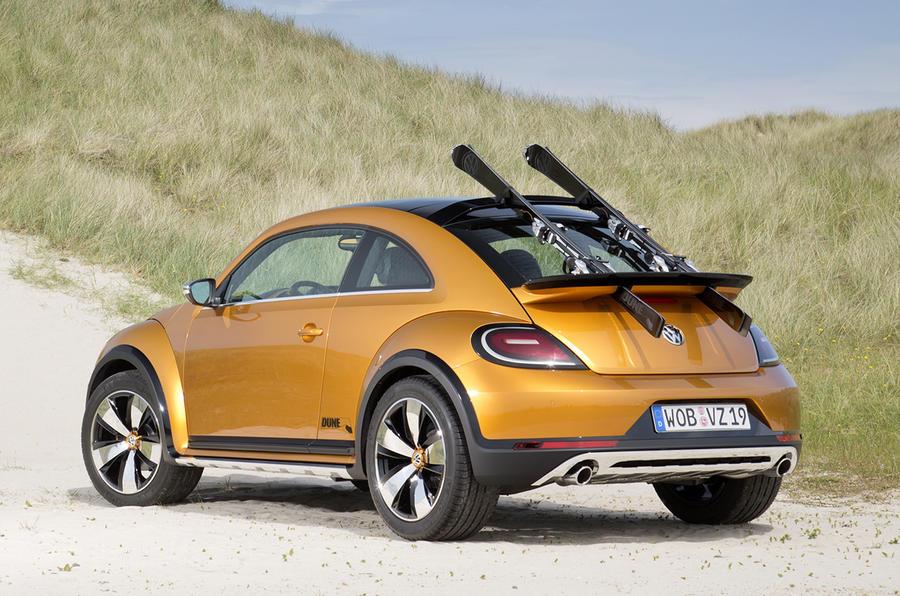 Volkswagen Beetle Dune concept rear