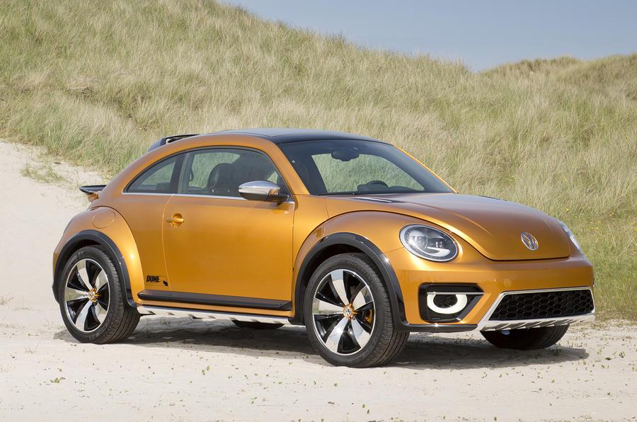 3.5 star Volkswagen Beetle Dune concept