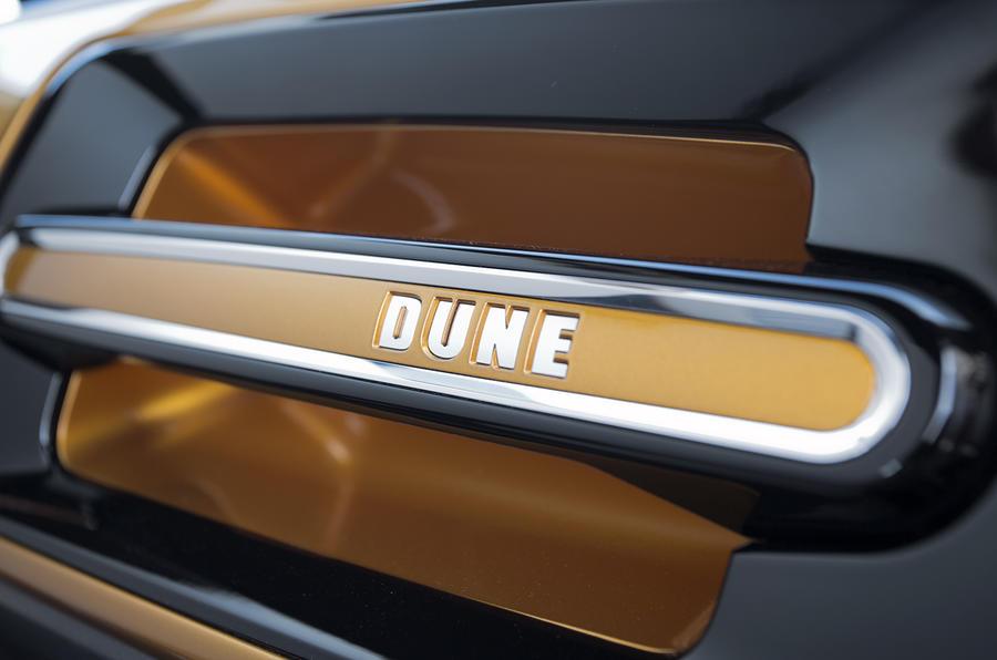 Volkswagen Beetle Dune concept decals