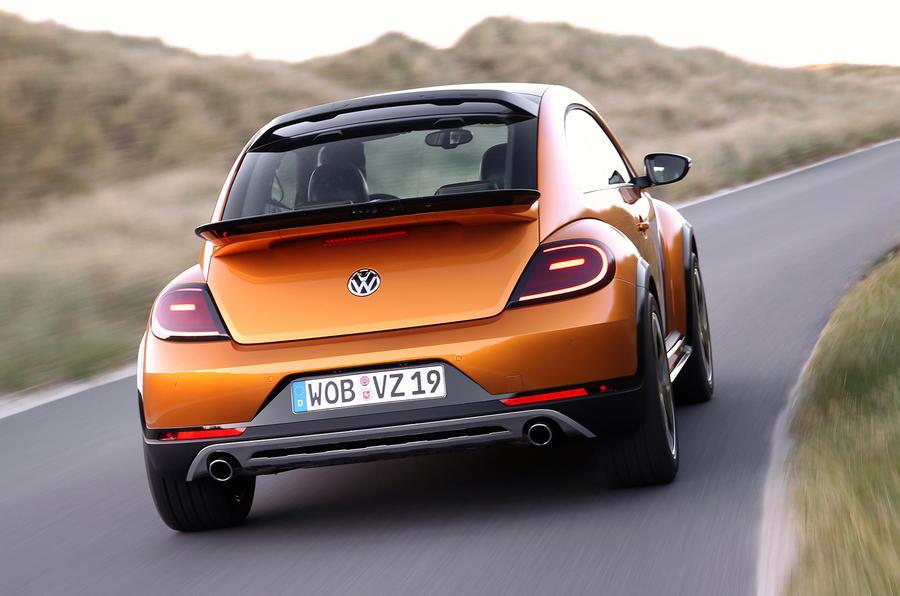 Volkswagen Beetle Dune concept rear cornering