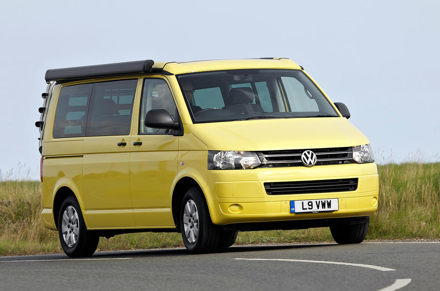 Volkswagen California; Volkswagen California rear; Volkswagen California motorhome