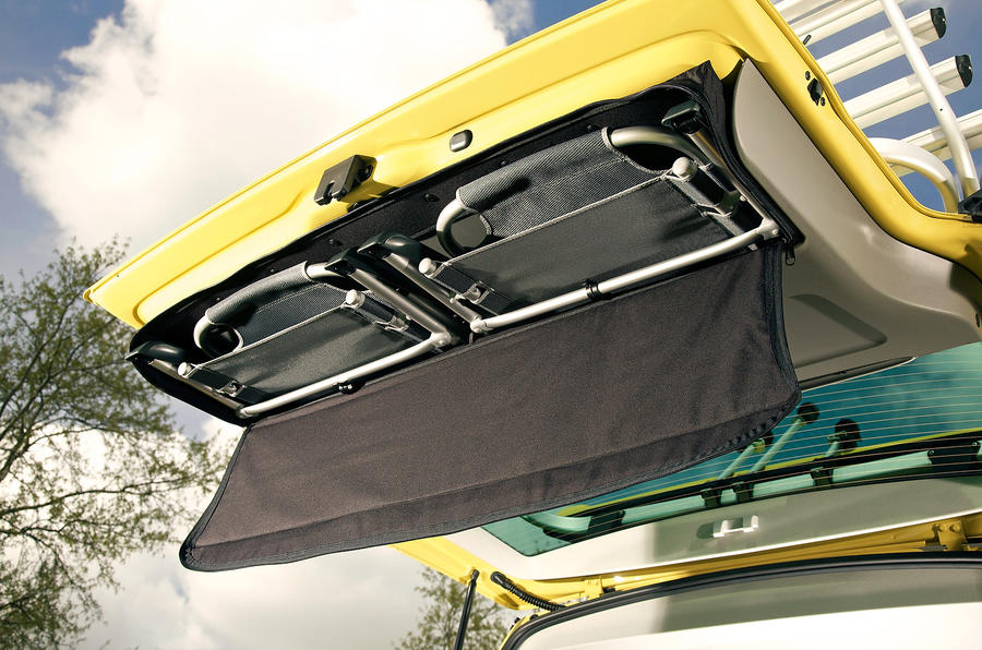 Volkswagen California storage space