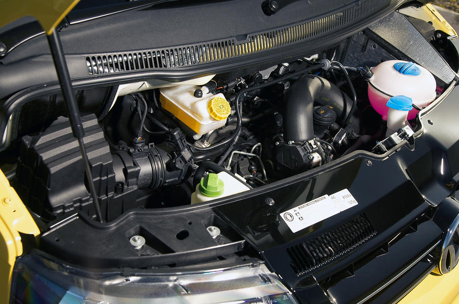 2.0-litre Volkswagen California diesel engine