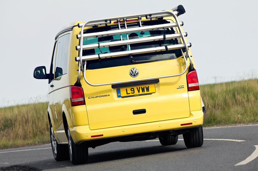 Volkswagen California rear