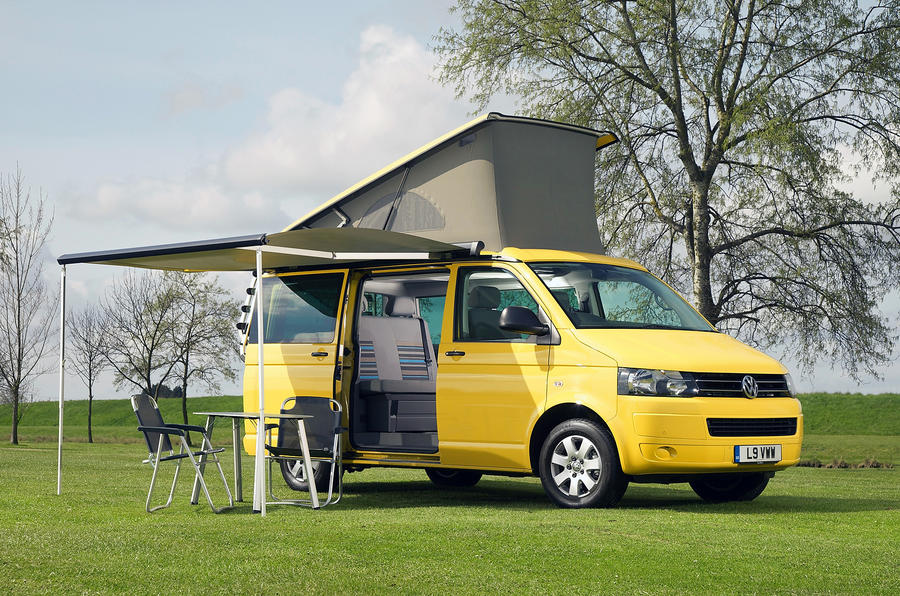 Volkswagen California Motorhome Set Up