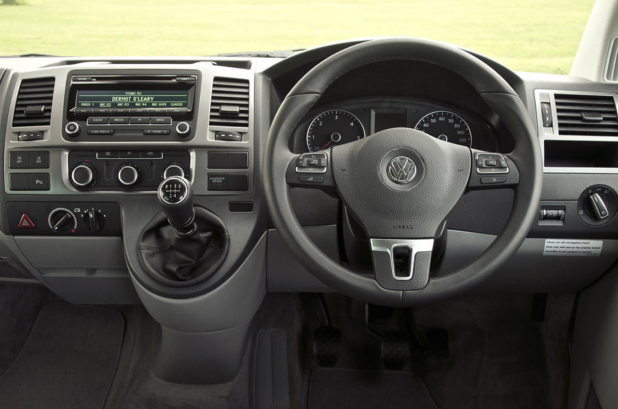 Volkswagen California dashboard