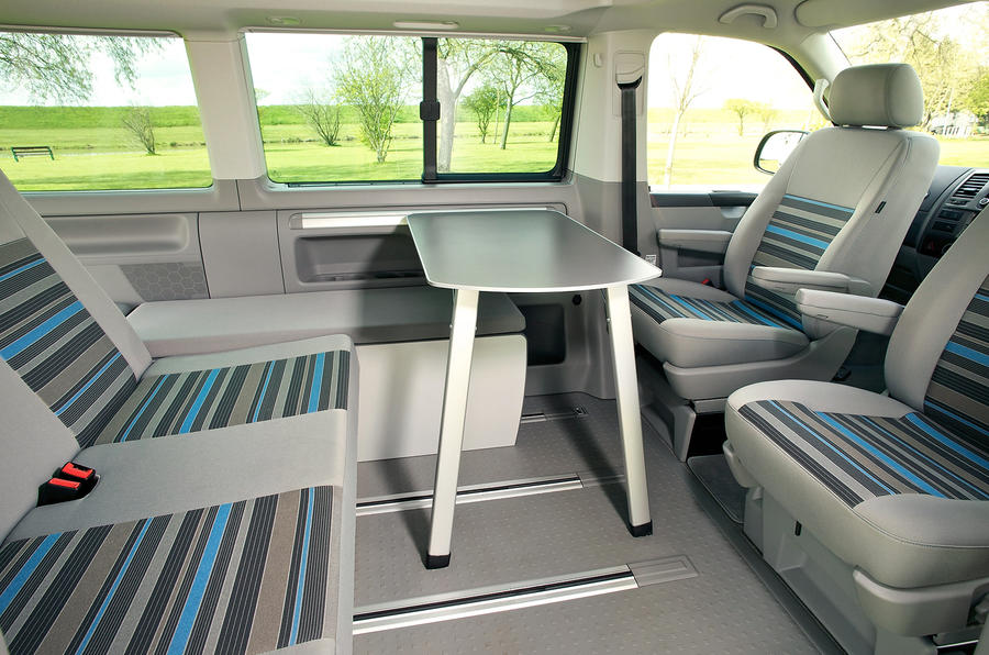 Volkswagen California interior