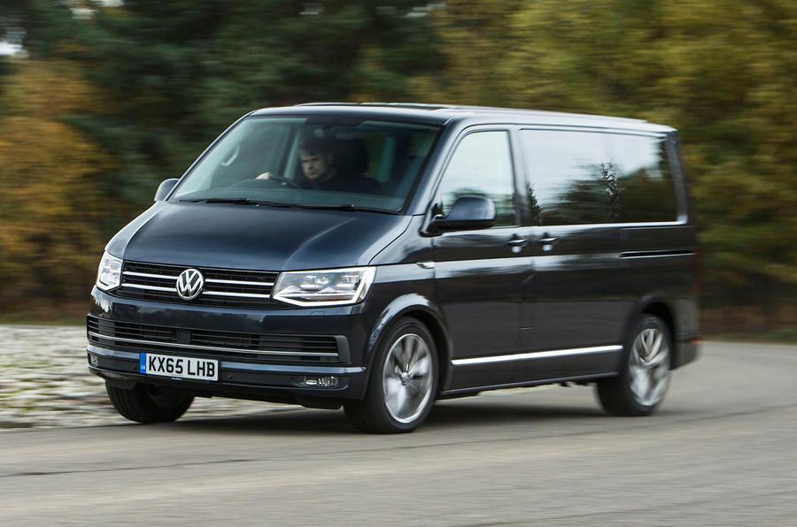 Volkswagen Caravelle T6 cornering