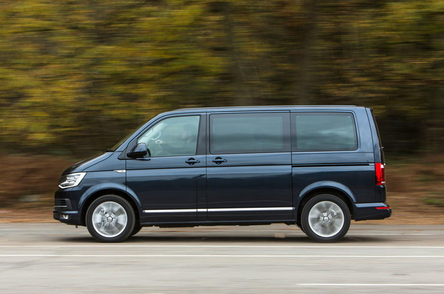 Volkswagen Caravelle side profile