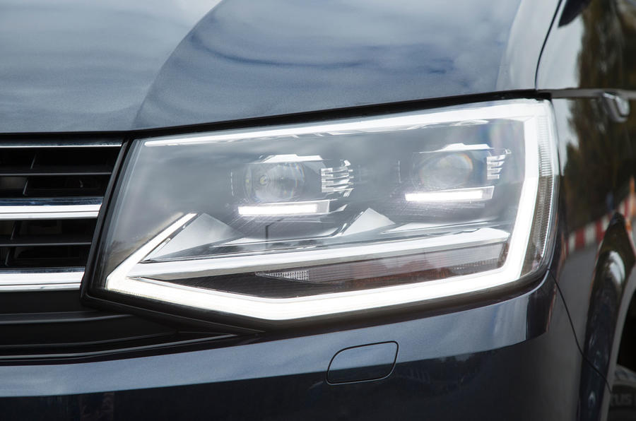 The T6 Caravelle Executive comes with LED day running lights