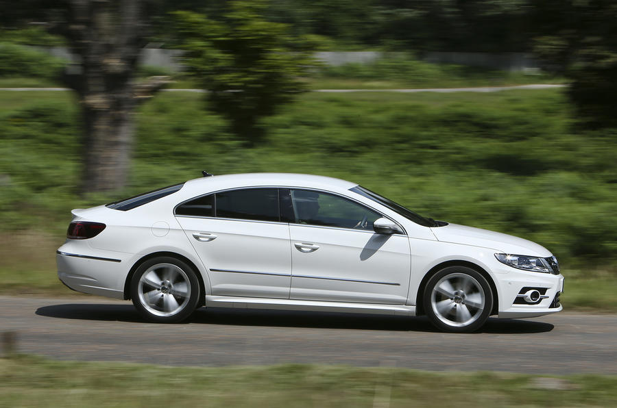 Prächtig Volkswagen CC R-Line 2.0 TDI Bluemotion UK first drive &LT_65