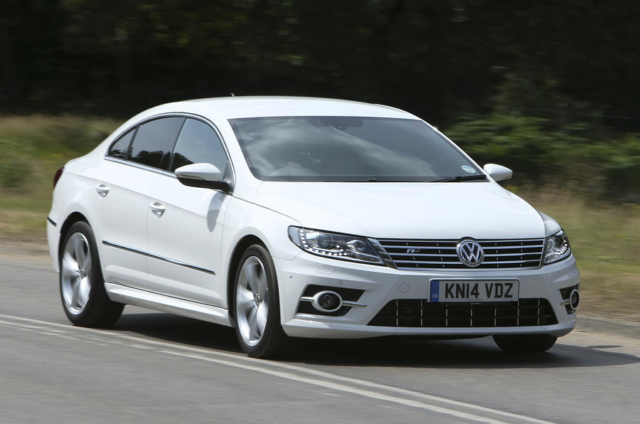 volkswagen cc r line 2 0 tdi bluemotion uk first drive. Black Bedroom Furniture Sets. Home Design Ideas